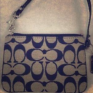 Coach wristlet/small purse